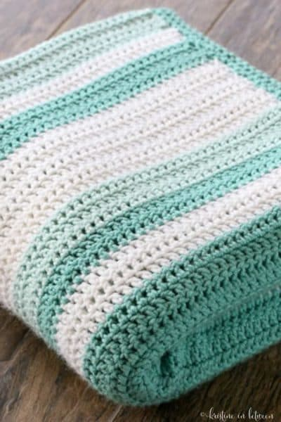 All Double Crochet Afghan