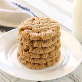 Delicious gluten-free flourless peanut butter cookies! They taste so good, you'd never know the gluten-free!