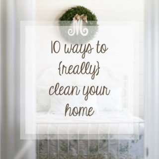 Springtime or fall these 10 ways to really clean your home are a must! Some of these, I never do...
