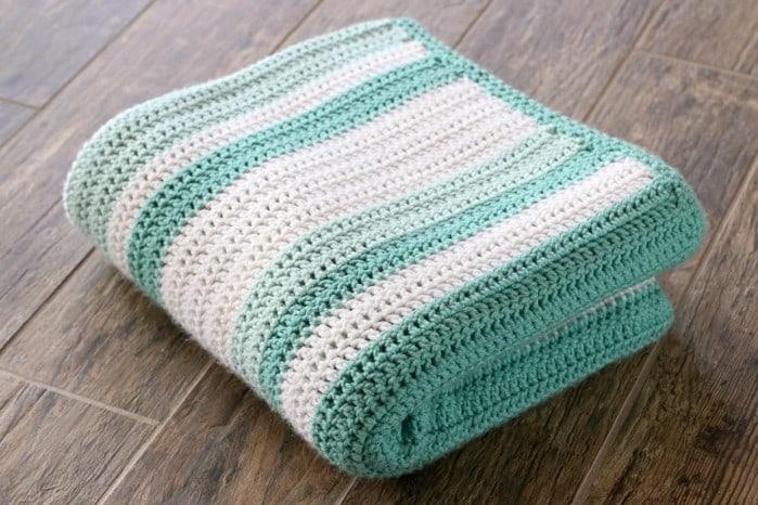 Random Knitting Pattern Generator : All Double Crochet Afghan Kristine in between