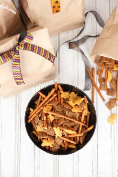 Real food pretzel snack mix. it's savory and delicious and only takes minutes to prepare. Perfect for your next party!