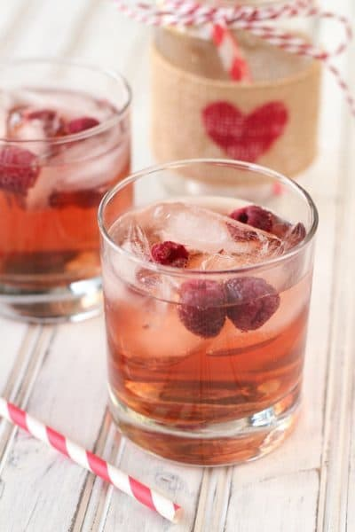 Light and refreshing crab-raspberry white wine spritzer. Perfect for warm days or cool evenings!