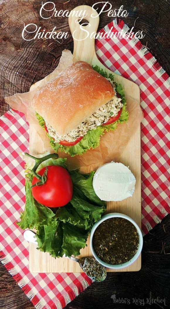 A delicious alternative to the traditional chicken salad and the perfect sandwich to pack for your next picnic.
