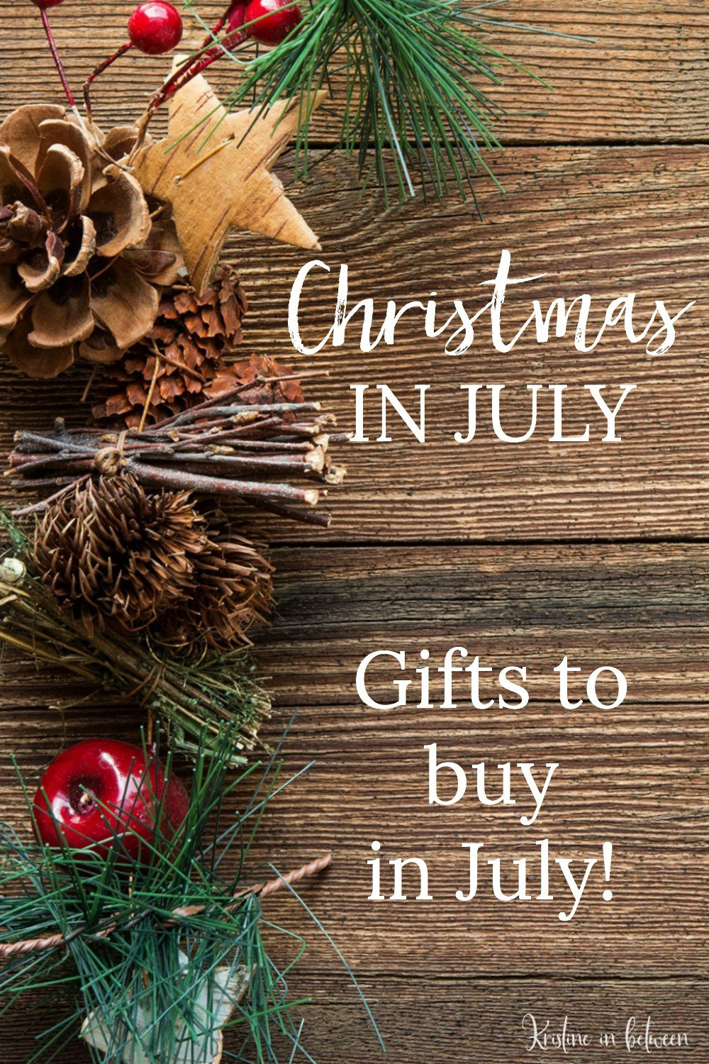Celebrate Christmas in July with these gifts to buy in July!