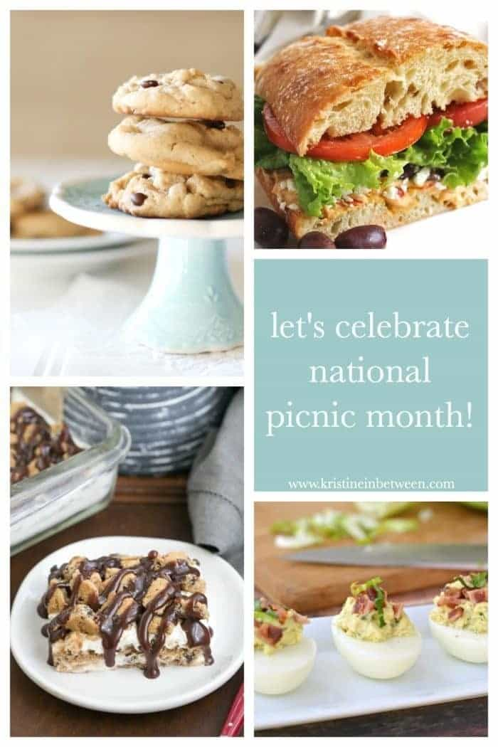 July is National Picnic Month and I'm celebrating! Check out this fantastic collection of picnic recipes!