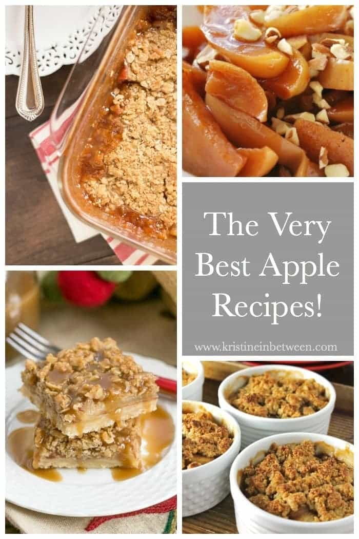 To celebrate apple month, I've rounded up the very best apple recipes!