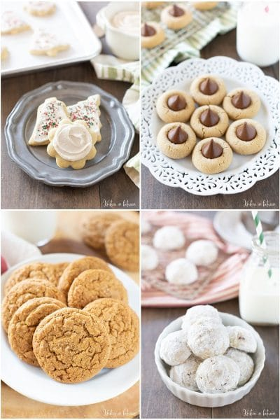 A roundup of the best cookie exchange recipes! You'll find everything from traditional cookies to forgotten holiday favorites!