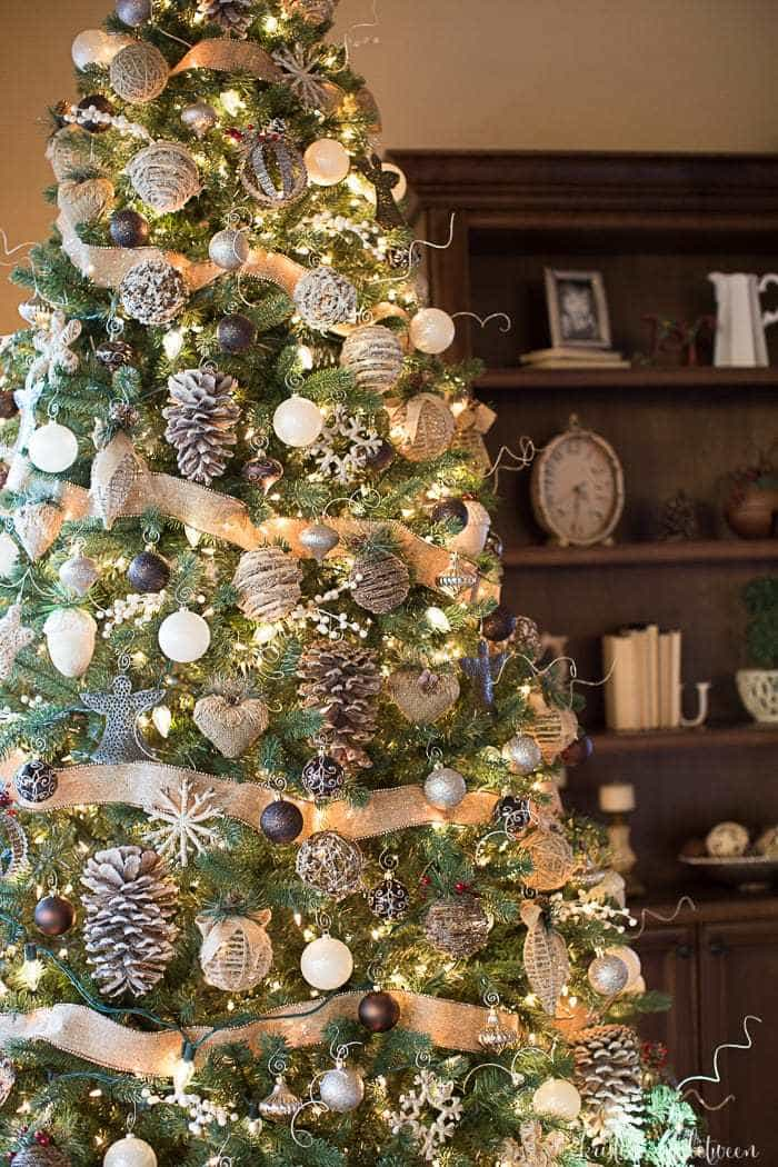 3 Tips To Make Your Tree Magical Farmhouse Rustic Style Christmas