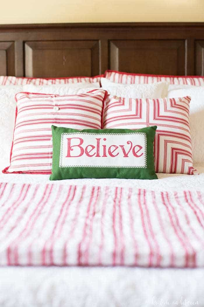 Fabulous ideas for how to get your guest room ready for the holidays!