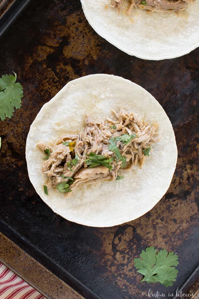 I love this Crock-Pot pork carnitas because it's so easy to make!