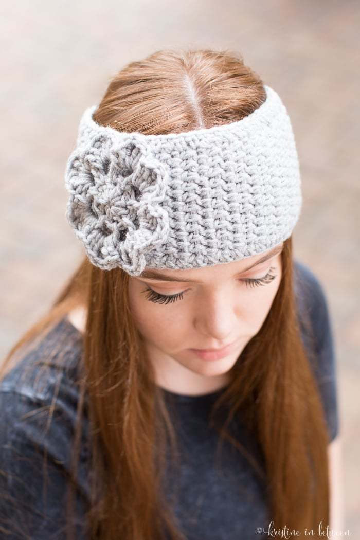 Easy Crochet Ear Warmer Kristine In Between