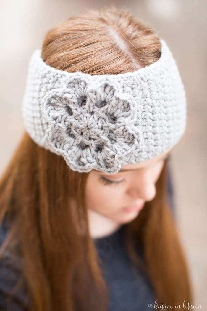 Easy Crochet Ear Warmer Kristine In Between