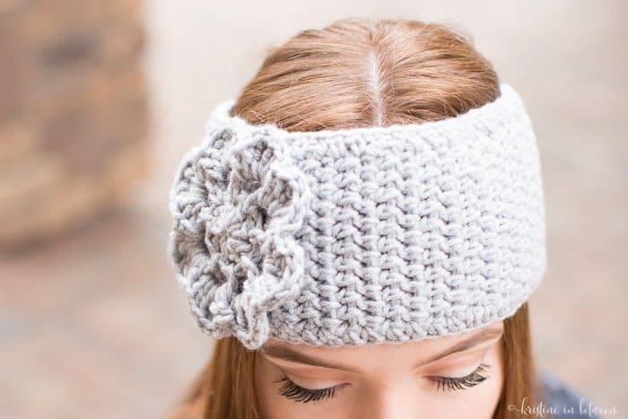 Easy Crochet Ear Warmer | Kristine in between