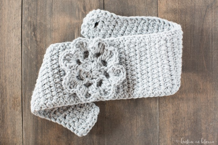 Make this easy crochet ear warmer in just about an hour!