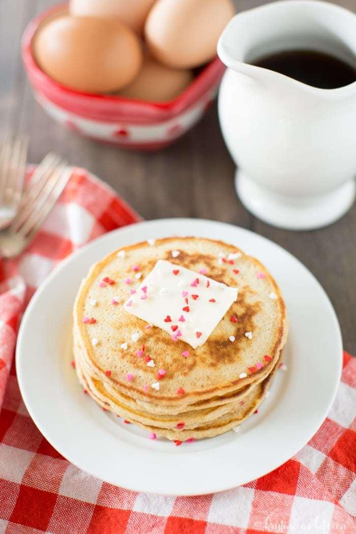Valentine Pancakes W 1