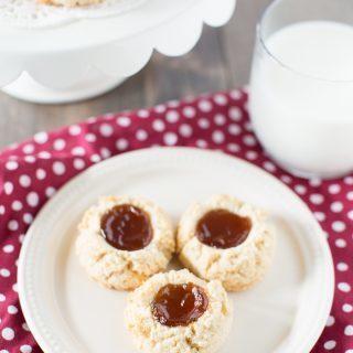 Almond Flour Shortbread Cookies