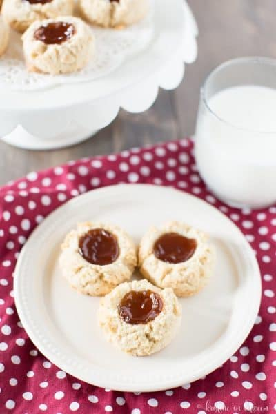 Almond Flour Shortbread Cookies