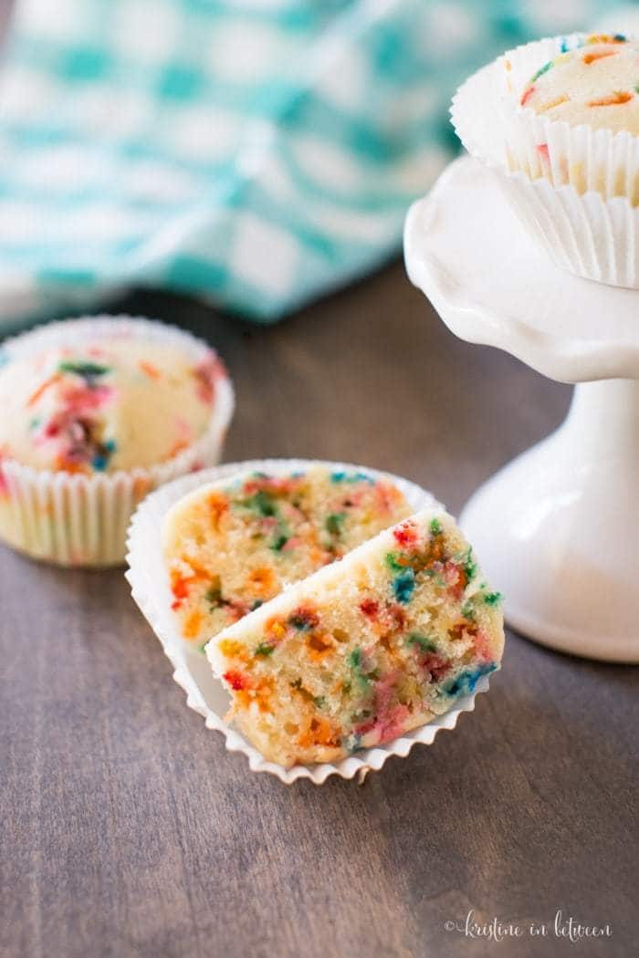 You'll love these easy small-batch birthday cake muffins!