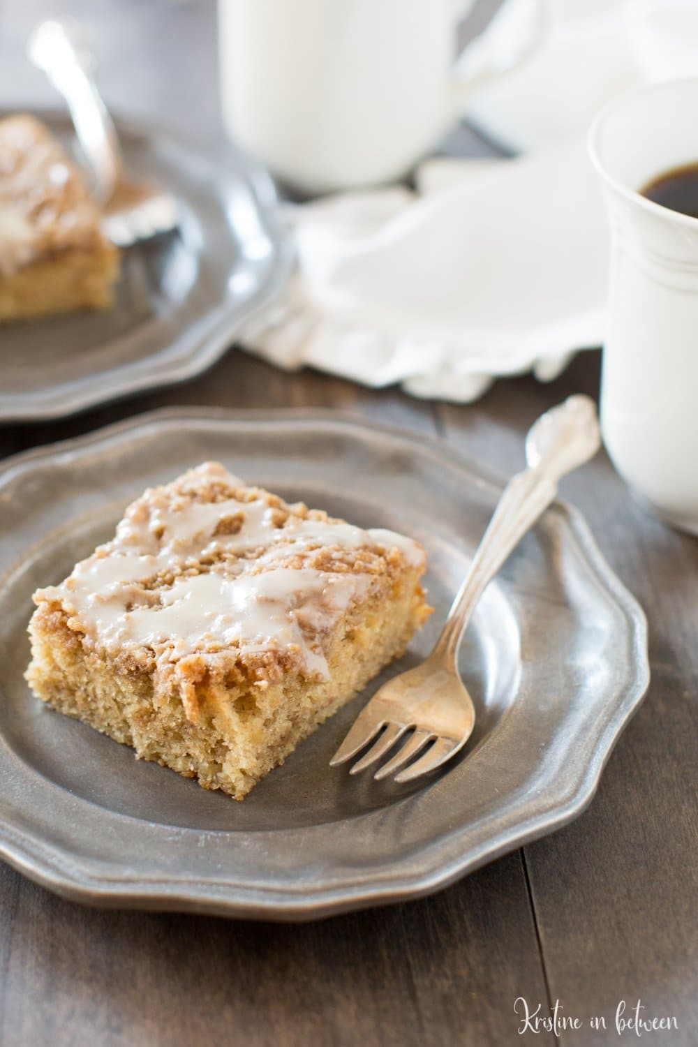 Soft and delicious banana crumb cake makes the perfect breakfast treat!