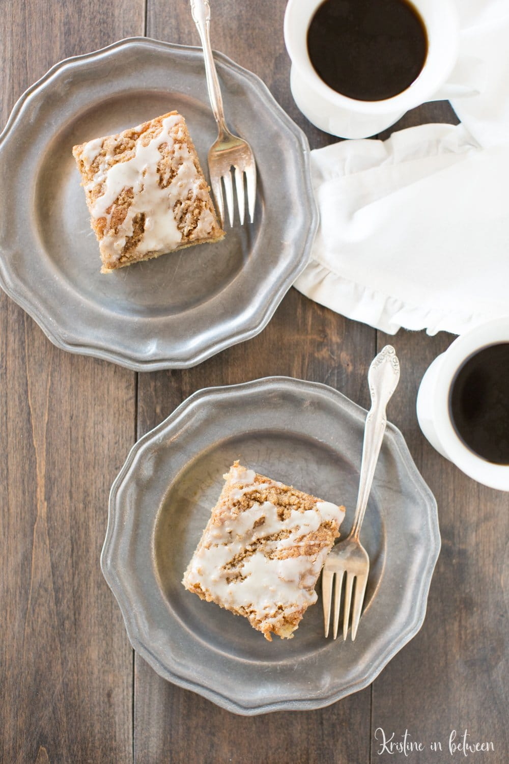 This small-batch banana crumb cake is the perfect addition to any brunch.