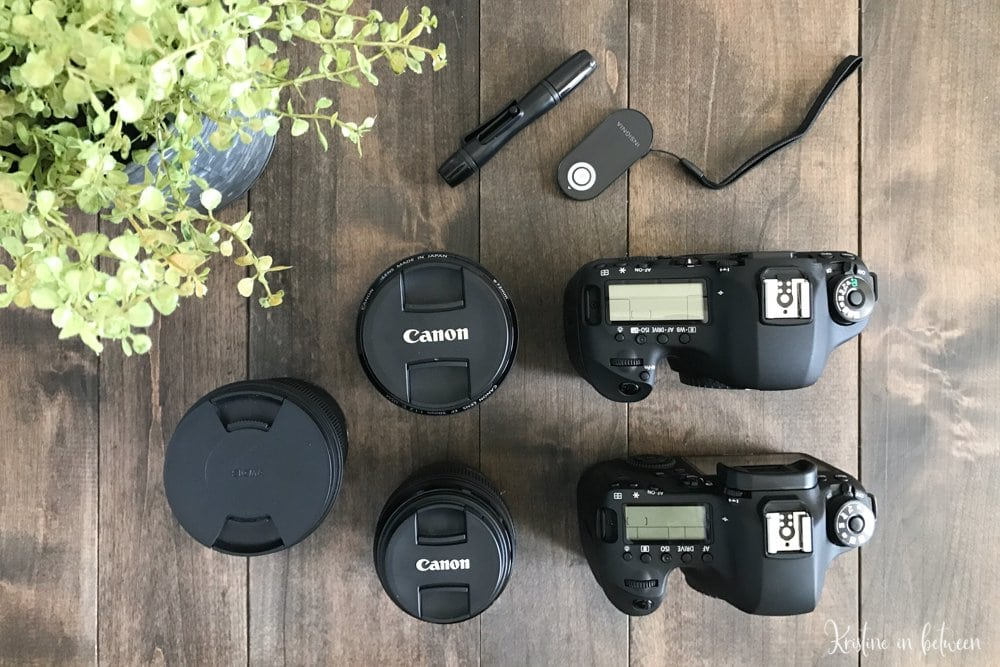 A detailed list of the camera gear I use for all of my food photography and recipe videos.