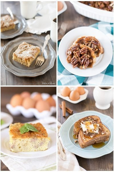 A delicious collection of the best brunch recipes, from sweet to savory, there's something for everyone!
