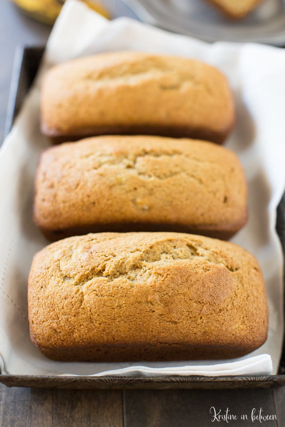 This is the best recipe for soft and sweet traditional banana bread!