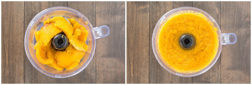 Easily make homemade pumpkin puree in the Crock-Pot with this simple recipe! Your pies will never taste better!