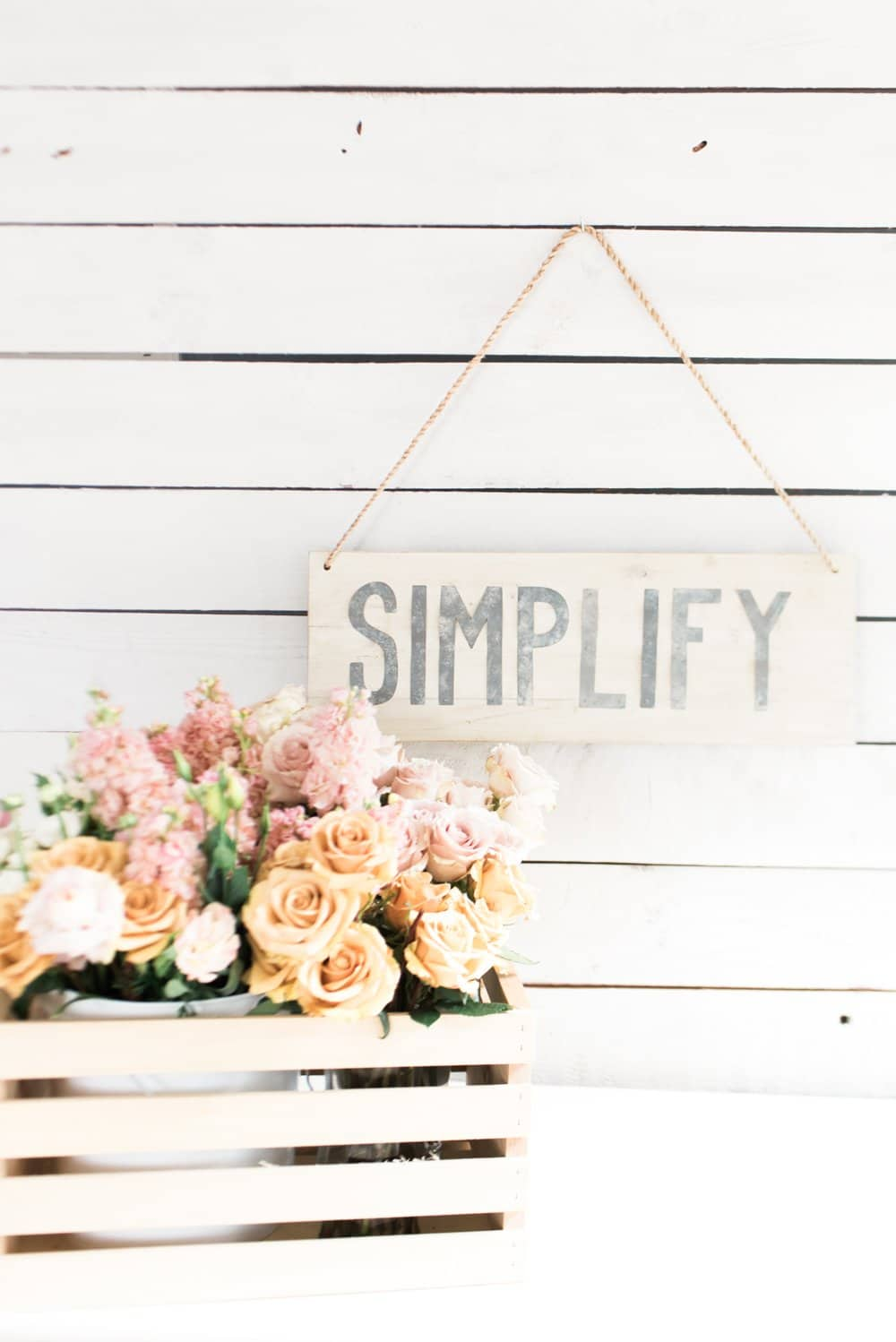 When I start to feel that whirlwind of crazy come over me, I know it's time to slow my roll and simplify my life. These 5 simply ways to simplify life save me every single time.
