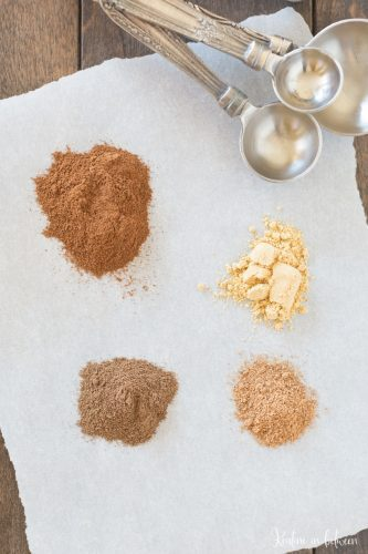 Make your own pumpkin pie spice with this easy recipe. It's perfect for all of those fall inspired recipes!
