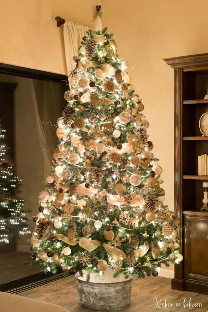 Christmas Tree Decorating Tips | Kristine in between