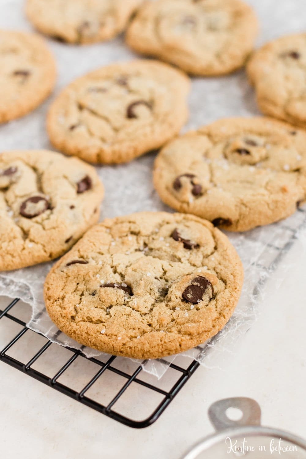 This is the most perfect recipe for everyday traditional chocolate chip cookies!