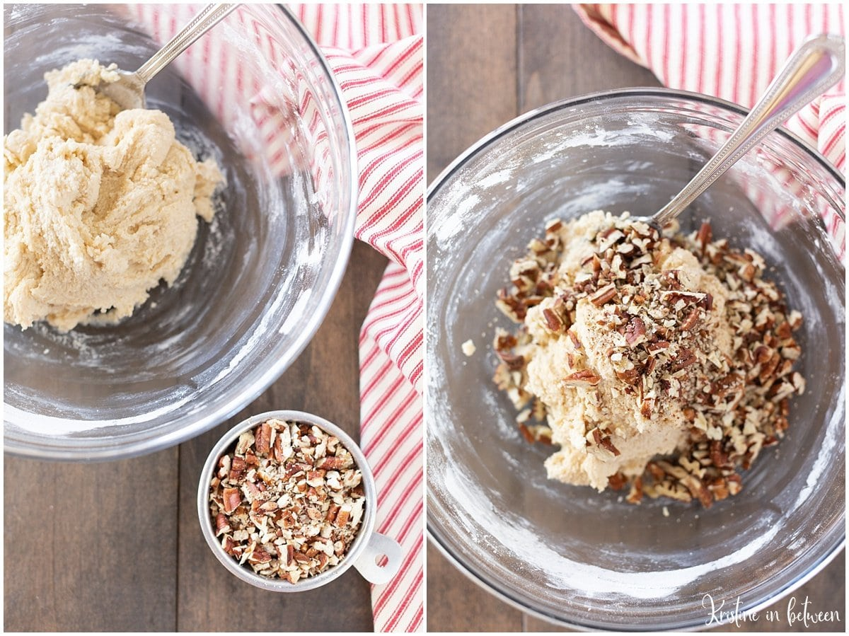 The best easy pecan snowball cookie recipe! The perfect holiday cookie!