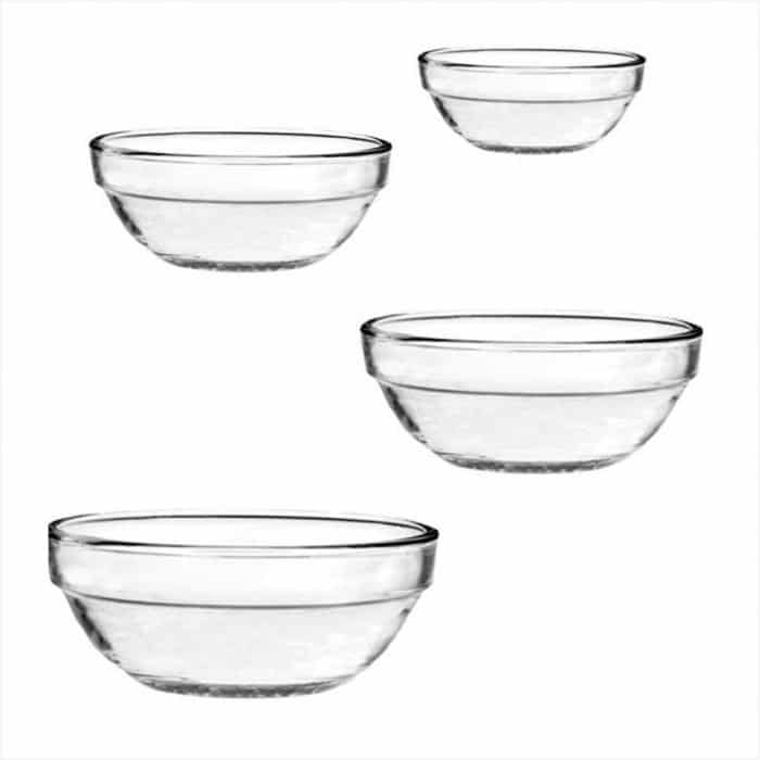 Anchor Hocking glass mixing bowls