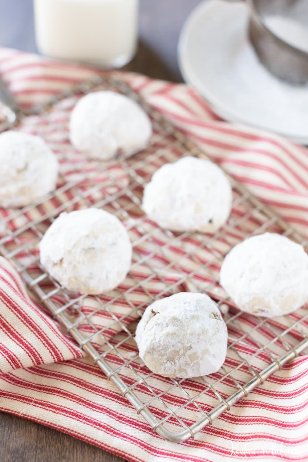 Easy Pecan Snowball Cookie Recipe Kristine In Between
