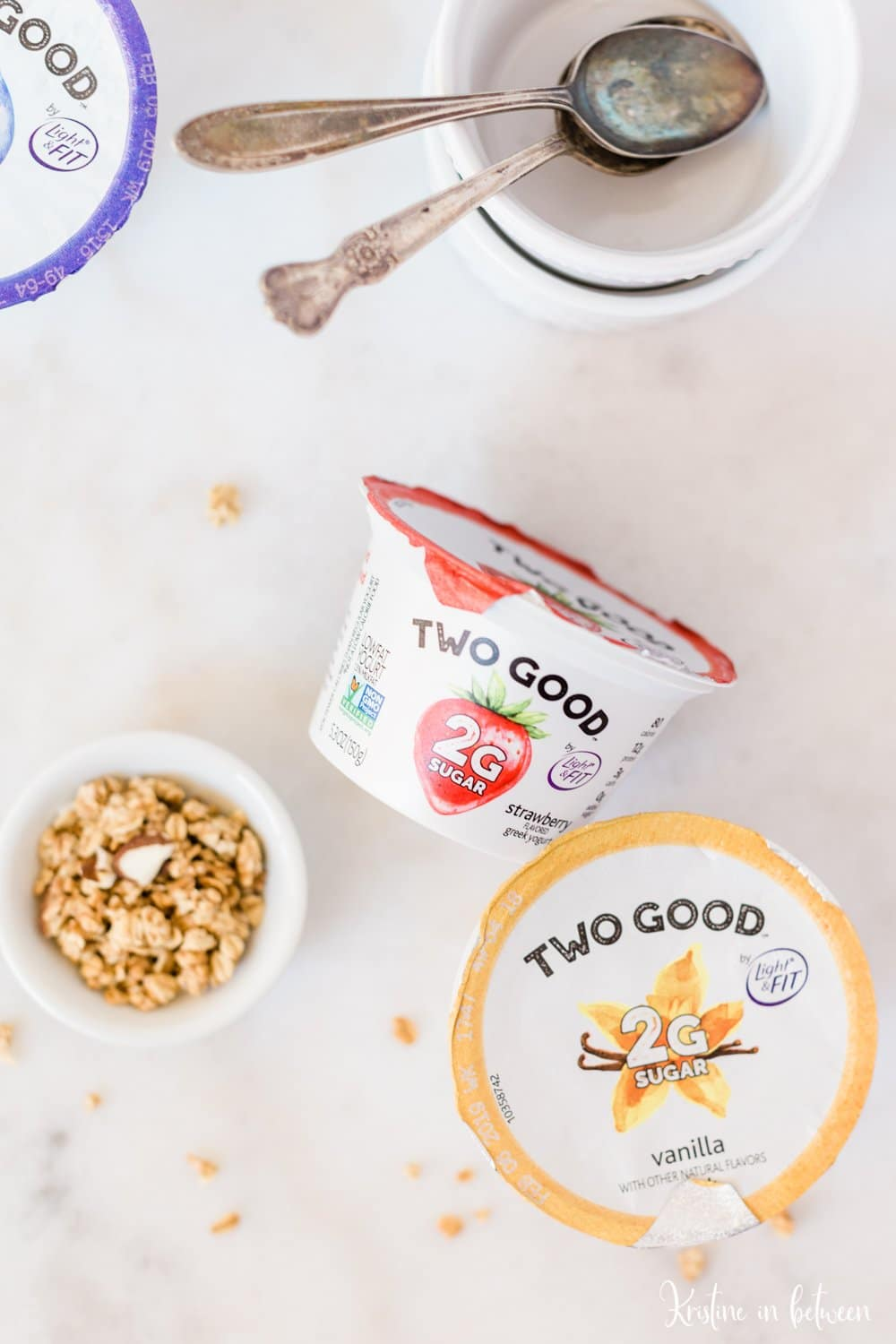 Easy ways to stay on the nutritional wagon, sponsored by Danone and Two Good Yogurt.