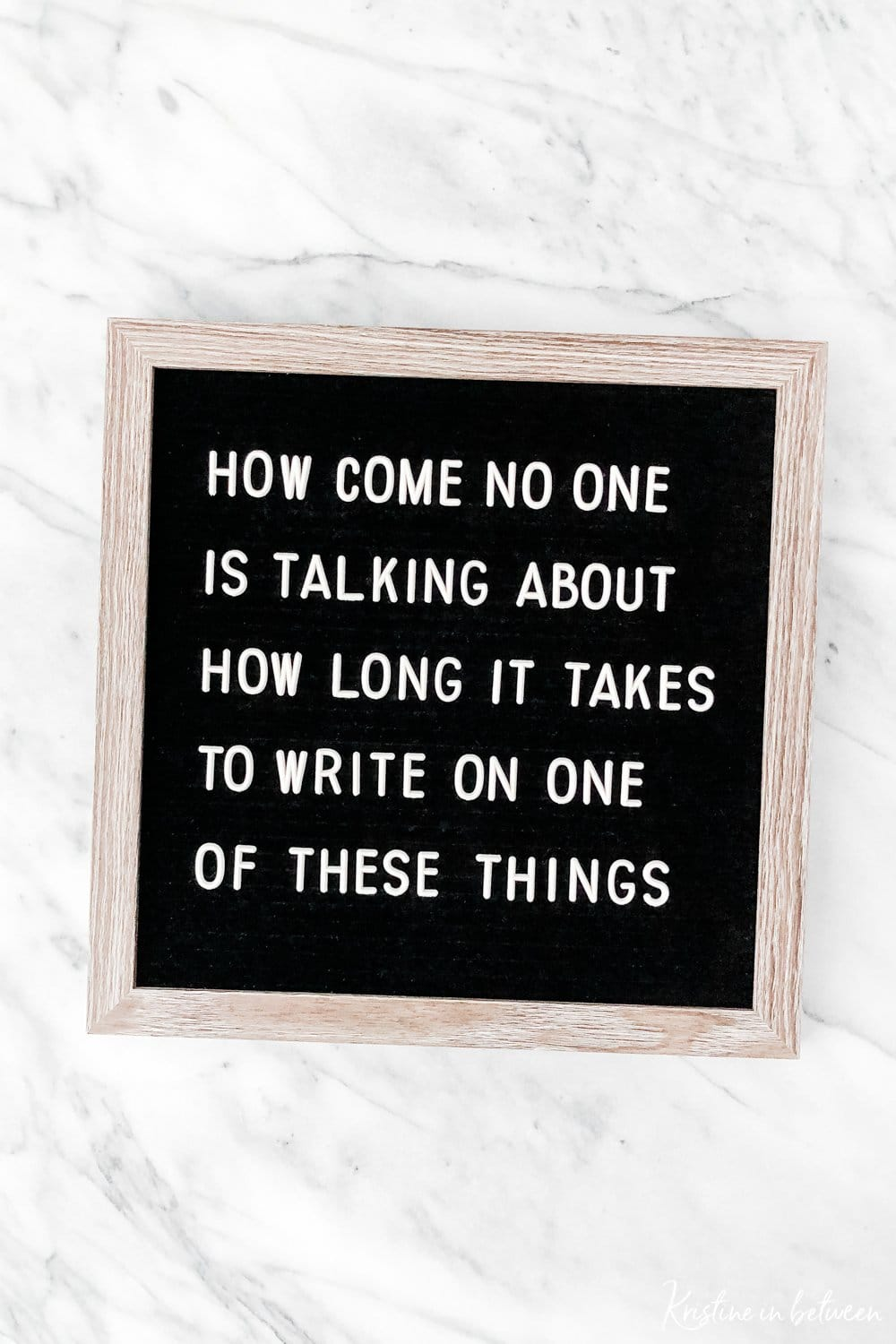 Super helpful felt letter board tips and tricks to make change your saying quick and easy!